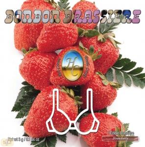 Hot Caresse; Brassière en bonbon aux fraises