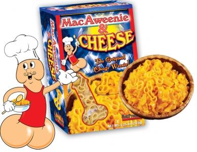 Mac Aweenie; Pâtes au fromage